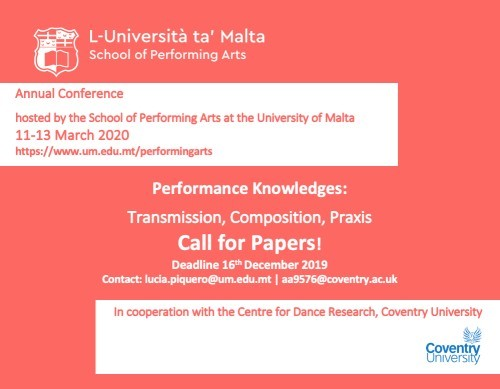 call for papers der uni malta