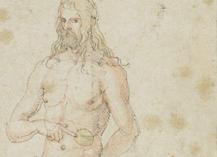 Albrecht Dürer: Selbstbildnis, krank, um 1509/11 © Kunsthalle Bremen