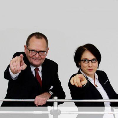 Manuela Unverdorben und Ralf Homann