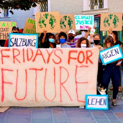Demo von Friday for Future